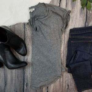 Madewell Split V Neck Tee